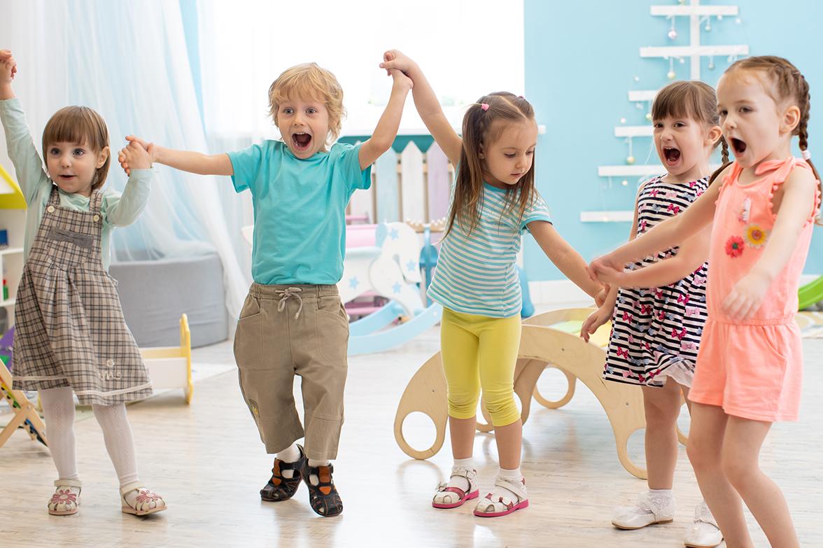 Willkommen in unserer Welt des Kindergartens