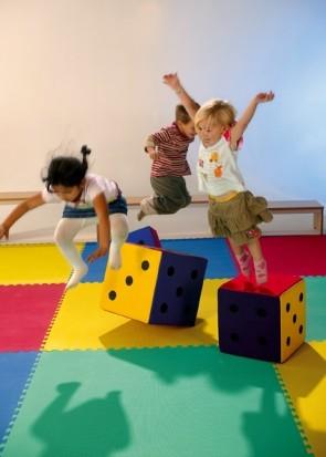 Sport- und Spielteppich 100x100 cm