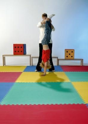 Sport- und Spielteppich 60x60 cm