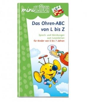 miniLÜK - Das Ohren-ABC von L bis Z