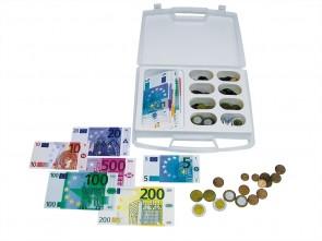 Euro-Sortierkoffer im Klassensatz, 24 Stück