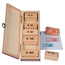 Euro-Geldscheine-Stempel Box
