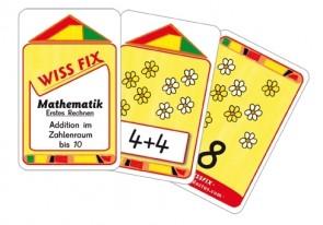 Wissfix-Kartensatz Addition bis 10