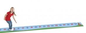 Boden-Zahlenstrahl 0 - 30