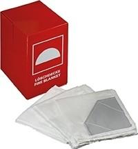 Löschdecke aus Thermoglasgewebe