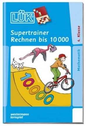 LÜK -  Supertrainer Rechnen bis 10.000