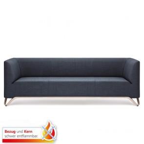 Boxit - 3er Sofa mit Armlehnen