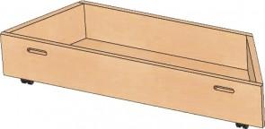 Rollkasten für Spielpodest Trapez