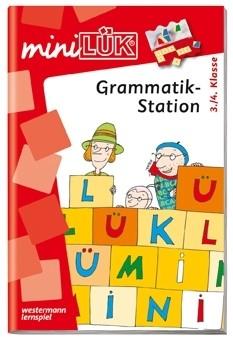 miniLÜK Grammatikstation 3.+ 4. Klasse