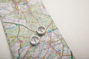 Schüler-Kompass mit Himmelsrichtungen