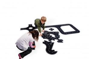 Straßen - Puzzleteile