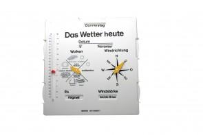Wetter Beobachtungstafel