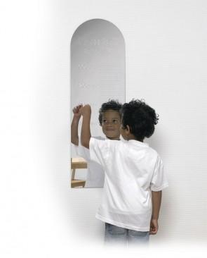 Spiegel zur Größenabmessung