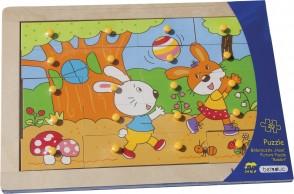"Kinderbilderpuzzle ""Hase"""