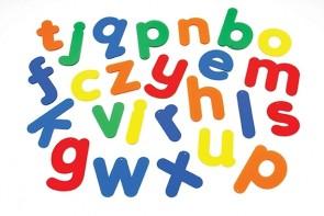 Acryl-Alphabet