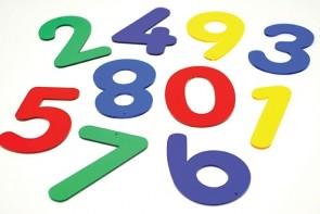 Acryl-Zahlen