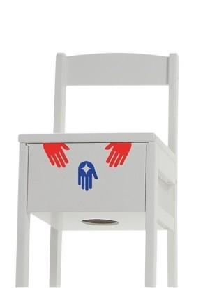baff Kindertrommelstuhl, Sitzhöhe 34 cm