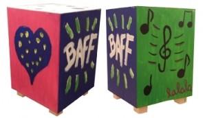 Bausatz für baff - Musikmöbel