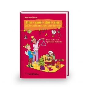 Eins – zwei – drei – vier, Weihnachten steht vor der Tür (Buch)