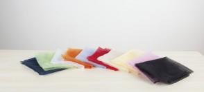 Jongliertücher 10 Stück, farbig sortiert