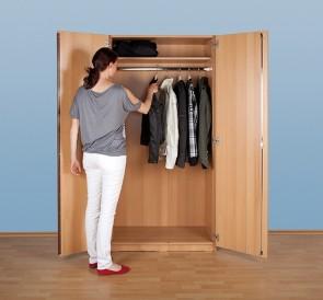 Garderobenschrank, hoch