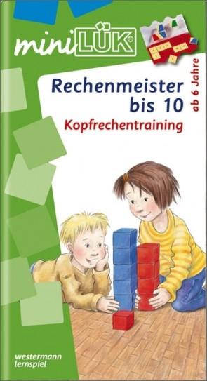 miniLÜK - Rechenmeister bis 10