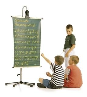 Einseitige Schrifttafeln, Vorderseite: vereinfachte Ausgangsschrift