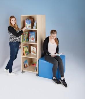 Bücherturm, einseitig