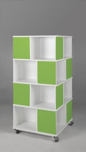 Bücherturm, multicolor