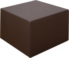 Sofaserie cuBe - Hocker mit Kunstlederbezug