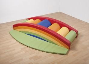 Regenbogen-Rollentreppe