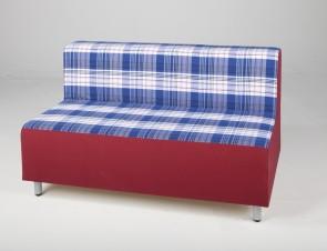 Relax Sitzmöbel - Zweierbank m. Lehne