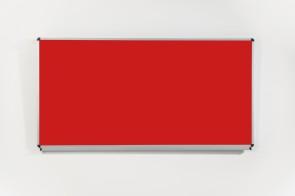 Wandtafel mit Tuchoberfläche 200 x 100 cm