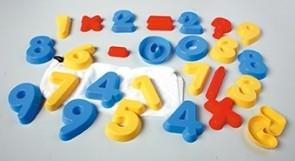 Zahlenförmchen 0-9