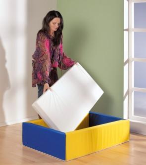 Matratze für Stapelbares Kinderbettchen, groß