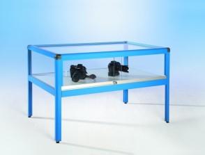 Tischvitrine aus Sicherheitsglas