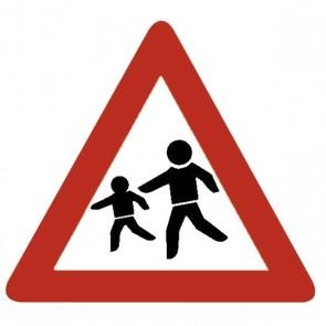 Verkehrsschild: Kinder