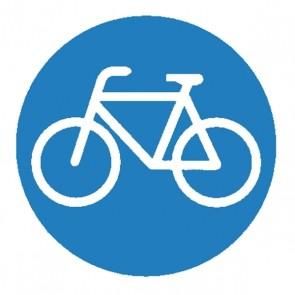 Verkehrsschild: Radfahrer