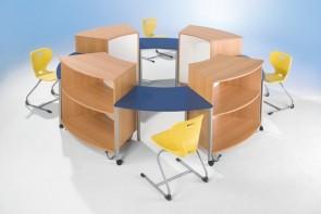 Tisch-Schrank-Set Runde Sache