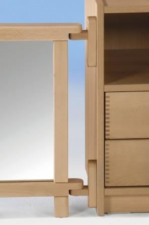 Wandhalter für Raumteiler